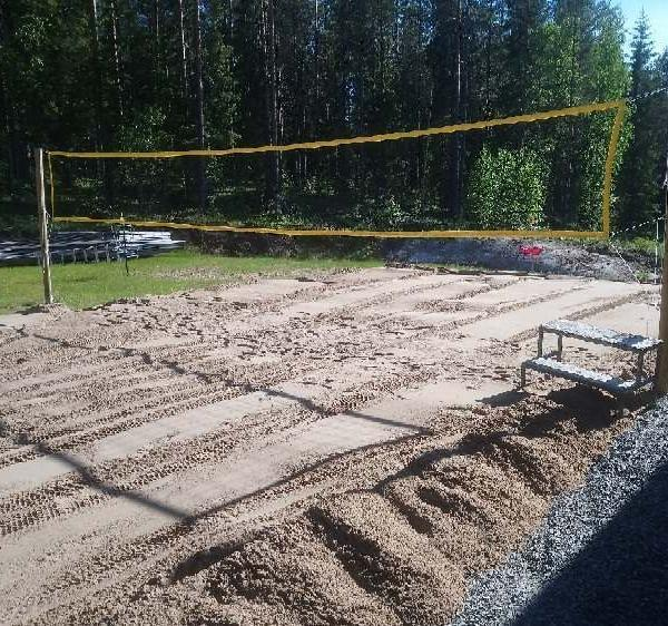Beach volley kenttä